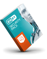 ESET Security Pack (3 komputery + 3 smartfony 1 rok)