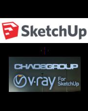 SketchUp Pro 2018 PL + V-Ray + klucz USB