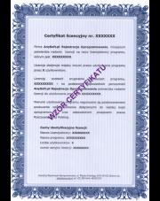 Certyfikat legalności