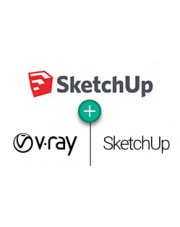 [RAZEM TANIEJ] SketchUp Pro Classic 2019 PL + V-Ray Next for SketchUp